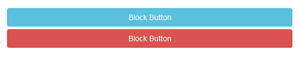 Bootstrap Button Block