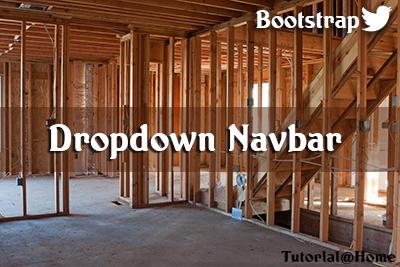 Bootstrap Dropdown NavBar
