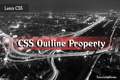 CSS outline Property