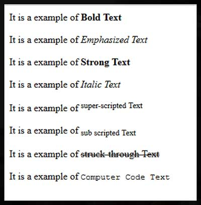 html-text-format