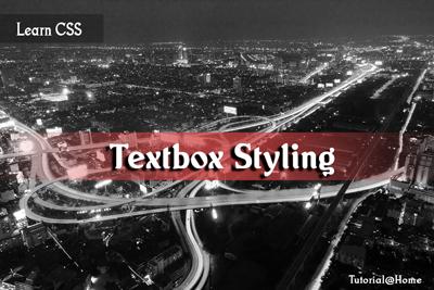 CSS3 Text Box