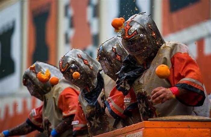 Battle Of Oranges