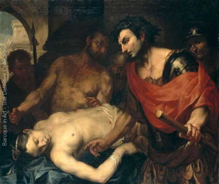Nero with the Corpse of his Mother