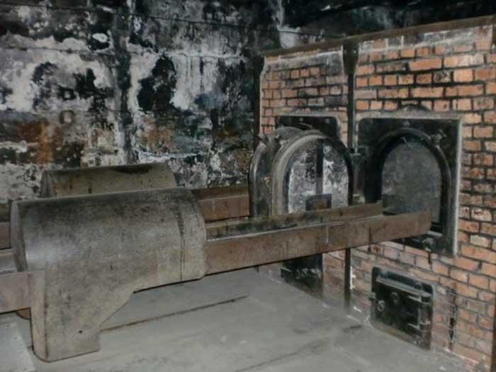 The Creamtorium Ovens at Auschwitz