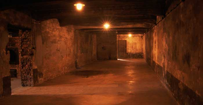 The gas chamber was the largest room in Crematorium