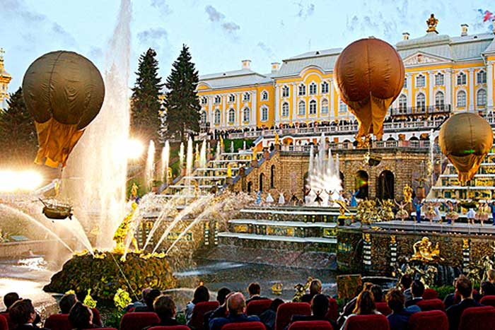 The Peterhof or Petrodvorets