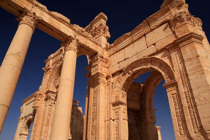 triumphal arch of palmyra