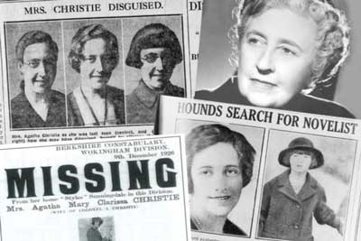 Disappearance Agatha Christie