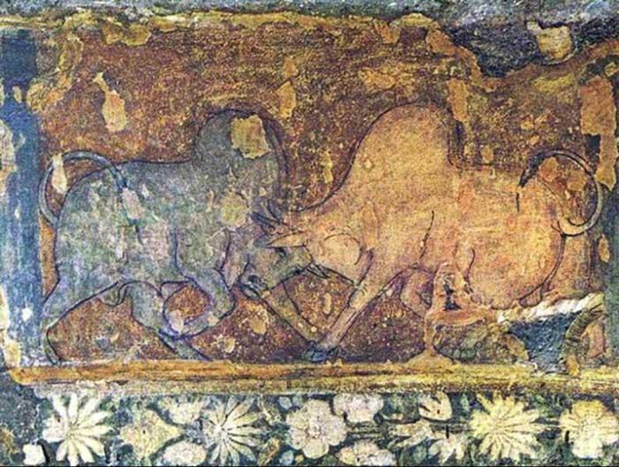 Bulls, Cave 17