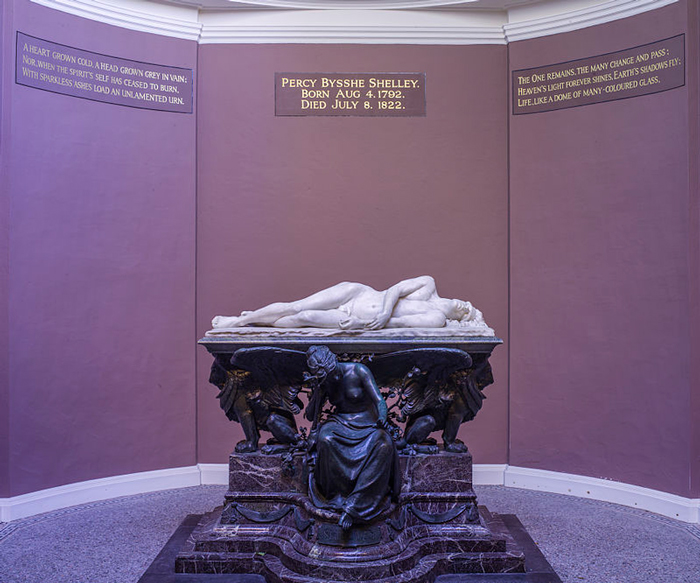 Shelley Memorial at University College, Oxford