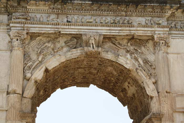 Top portion of the Arch