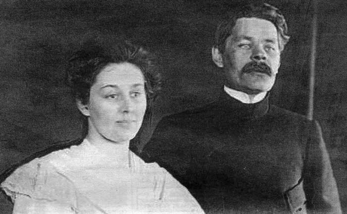 Moura and Maxim Gorky