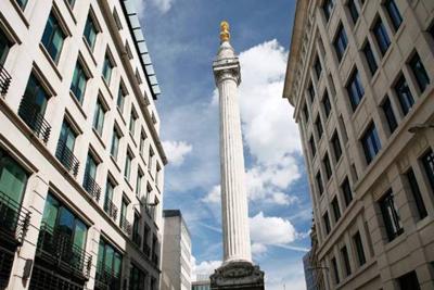 Monument Fire London