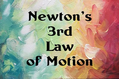 Newtons law of motion third