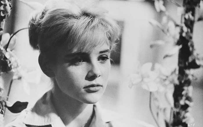 Sue Lyon as Lolita, in 1961 film version