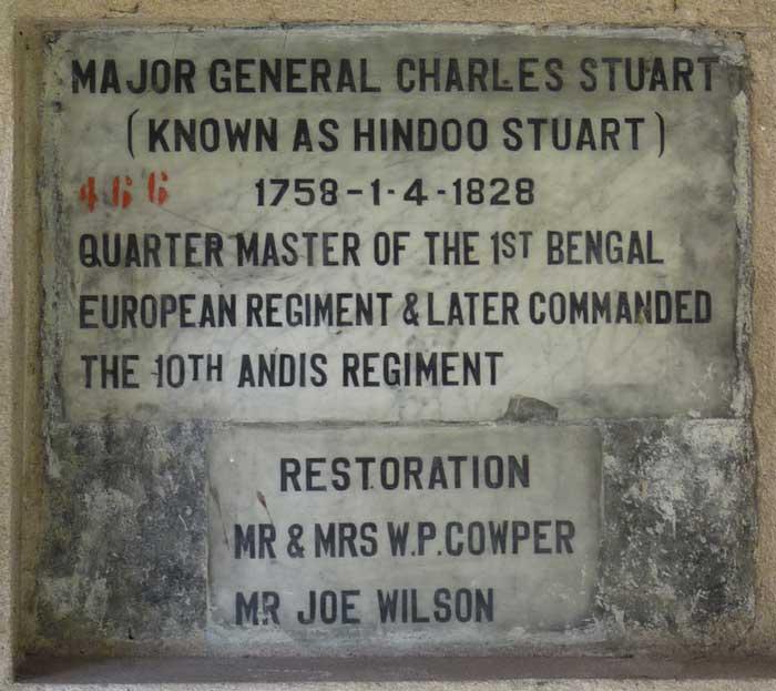 tomb of Hindoo Stuart
