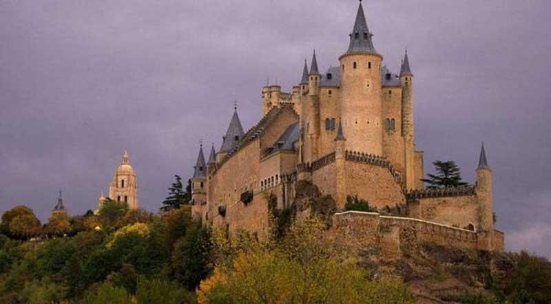 Alcazar of Segovia castle