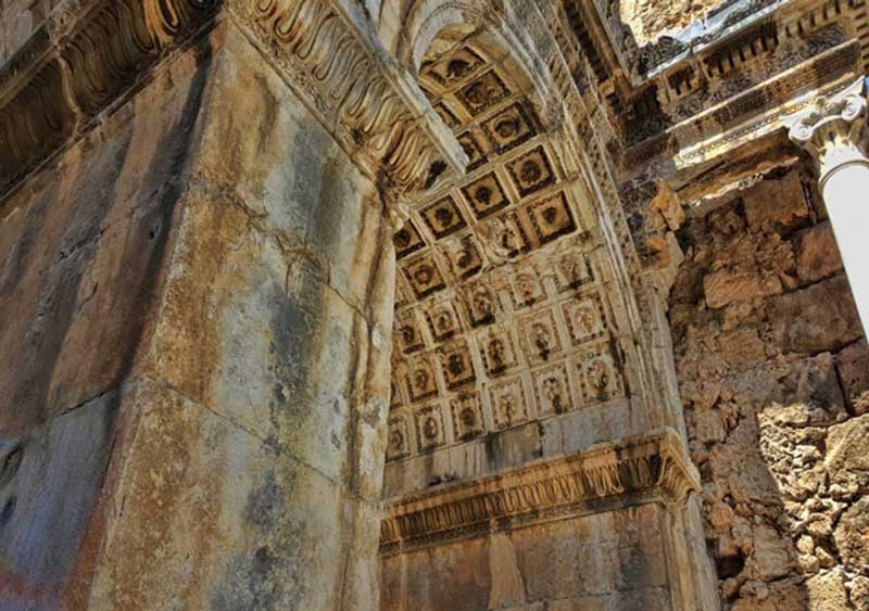 Hadrian's Gate in Antalya, Turkey