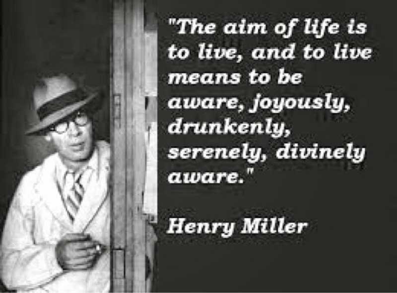Henry Miller with Brenda Venus