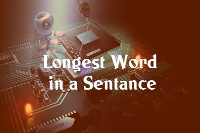 Longest word java