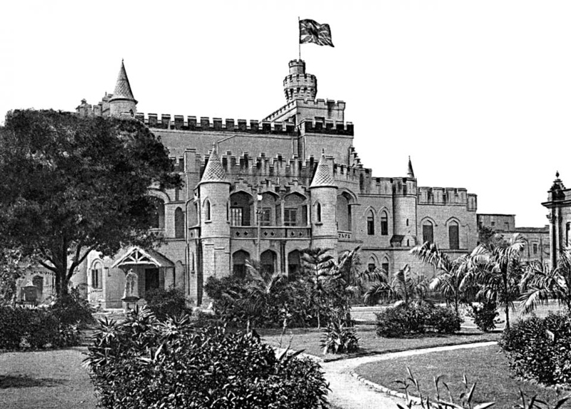 Tagore Castle - Old Picture