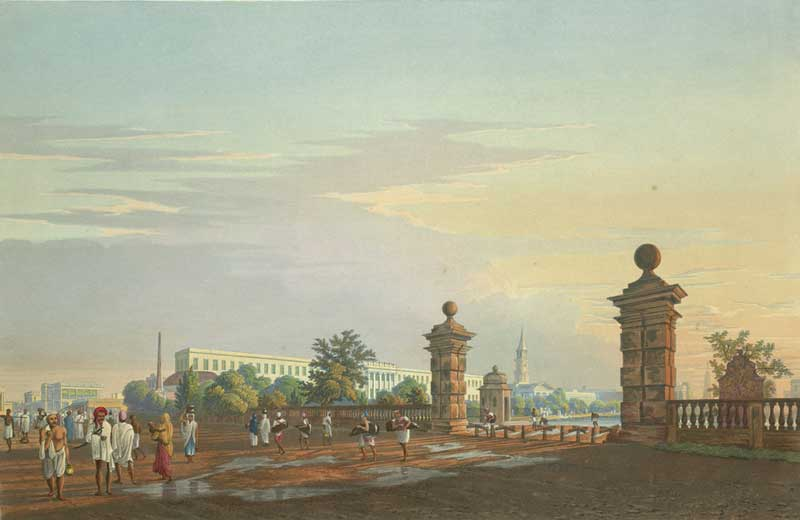 Tank Square, by James Baillie Fraser 1826
