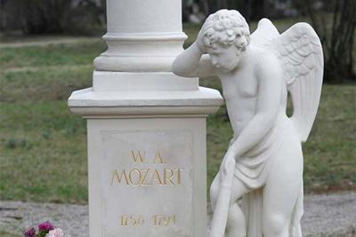 Mozart Tombstone