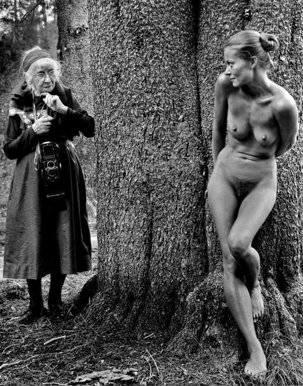 Twinka Thiebaud - as a model