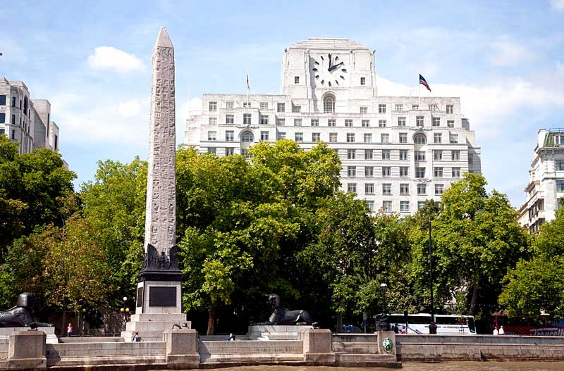 Cleopatra's Needle in London