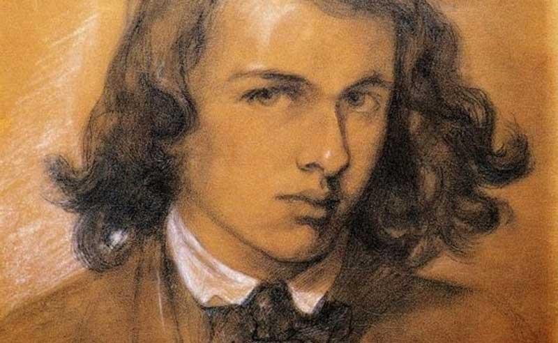 Dante Gabriel Rossetti -Self portrait 1847
