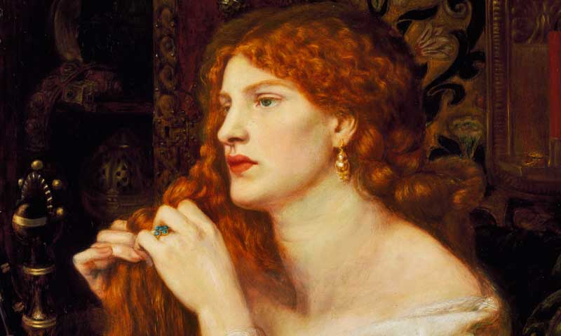 Fanny Cornforth as Aurelia