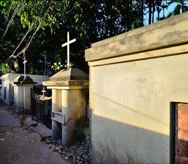 Greek Cemetery At Calcutta