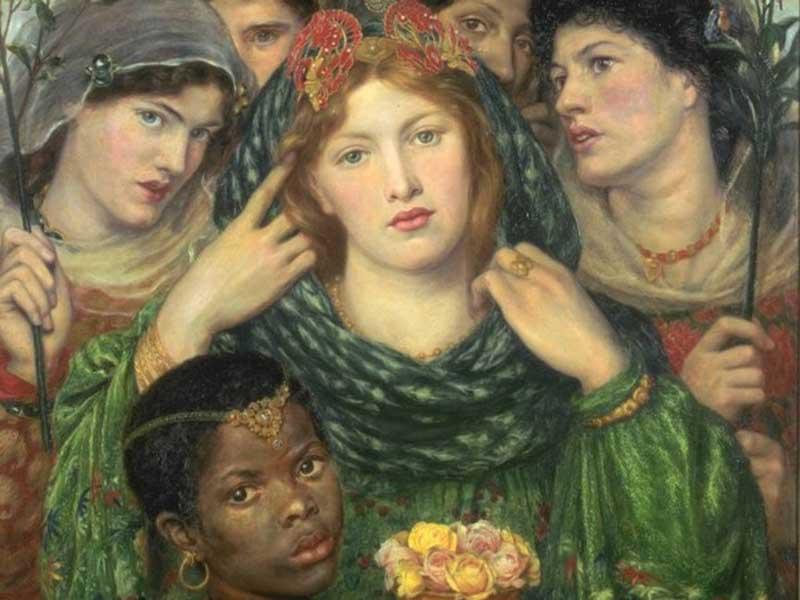 Elizabeth Siddall in L'amata (La sposa).