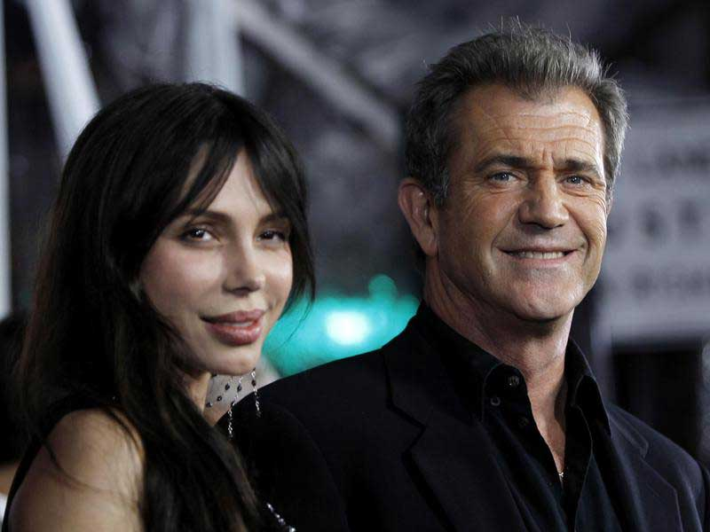 Mel Gibson and Robyn Moore