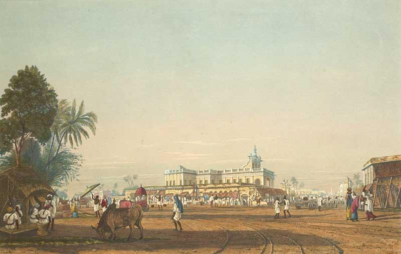 Portuguese Church, Calcutta - 1826