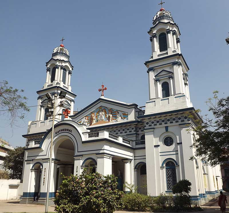 The Portuguese Church - Cathedral of the Most Holy Rosary in Calcutta