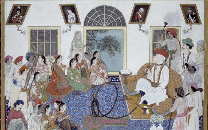 The British in Delhi took a serious interest in Mughal culture