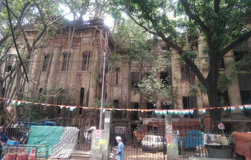 The dilapidated building of Duff College