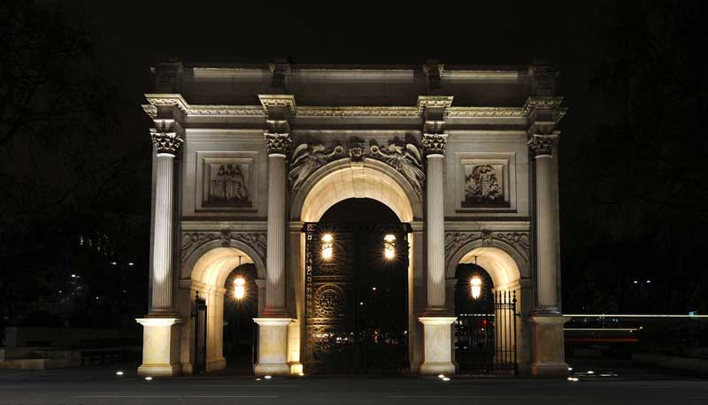 The Marble Arch In London