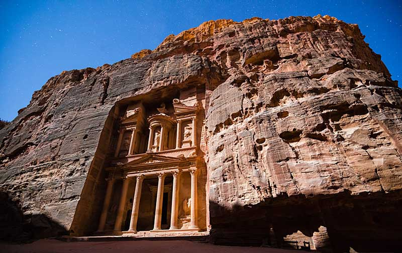 Al-Khazneh - The Treasury of Petra