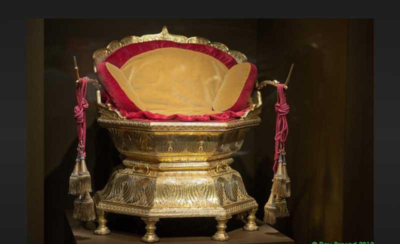 Golden Throne of Maharaja Ranjit Singh
