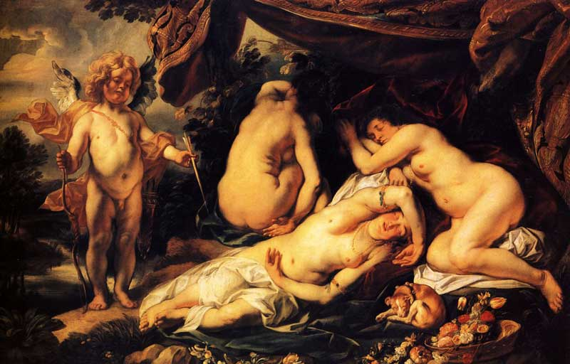 Psyche by Jacob Jordaens [Flemish 1593-1678]