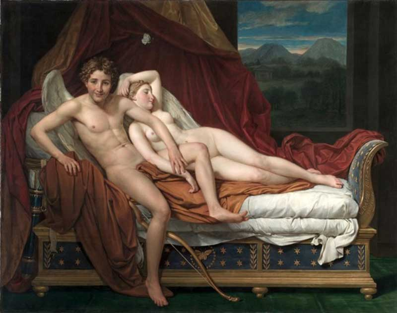 By, Jacques-Louis David [France 1748-1825]