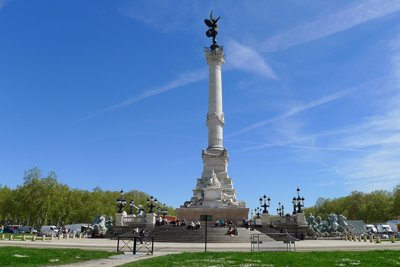 Monument aux Girondins France