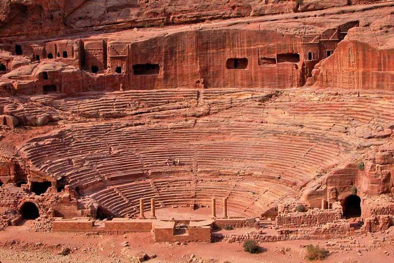 The Roman Theater, Petra