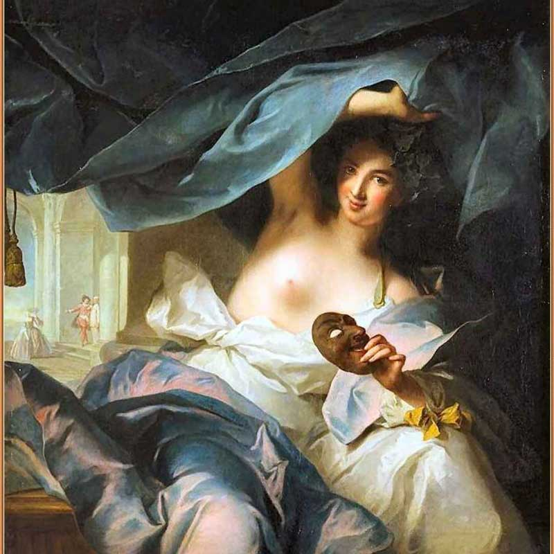 Thalia, by Jean-Marc Nattier