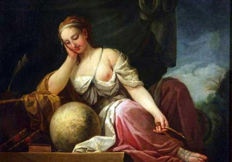 Urania, by Louis de Boullogne the Younger