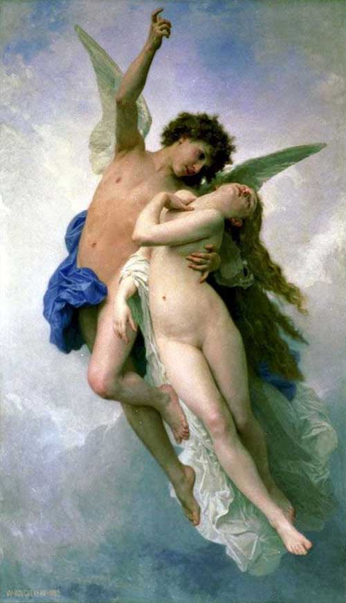 By William-Adolphe Bouguereau [France 1825-1905]