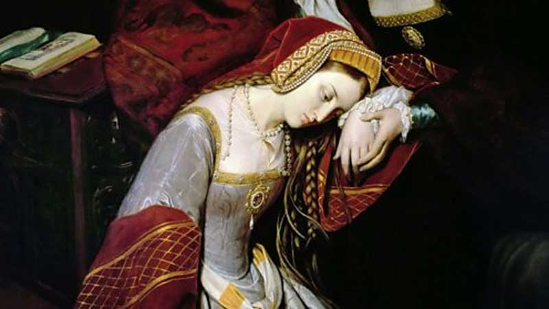 Anne Boleyn awaits her fate in the Tower of London.
