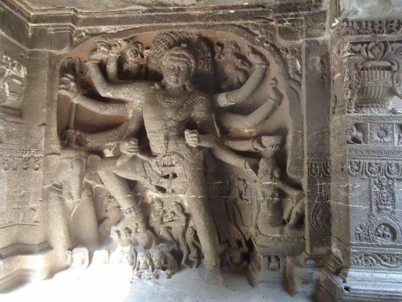 Dancing Shiva - Cave 15